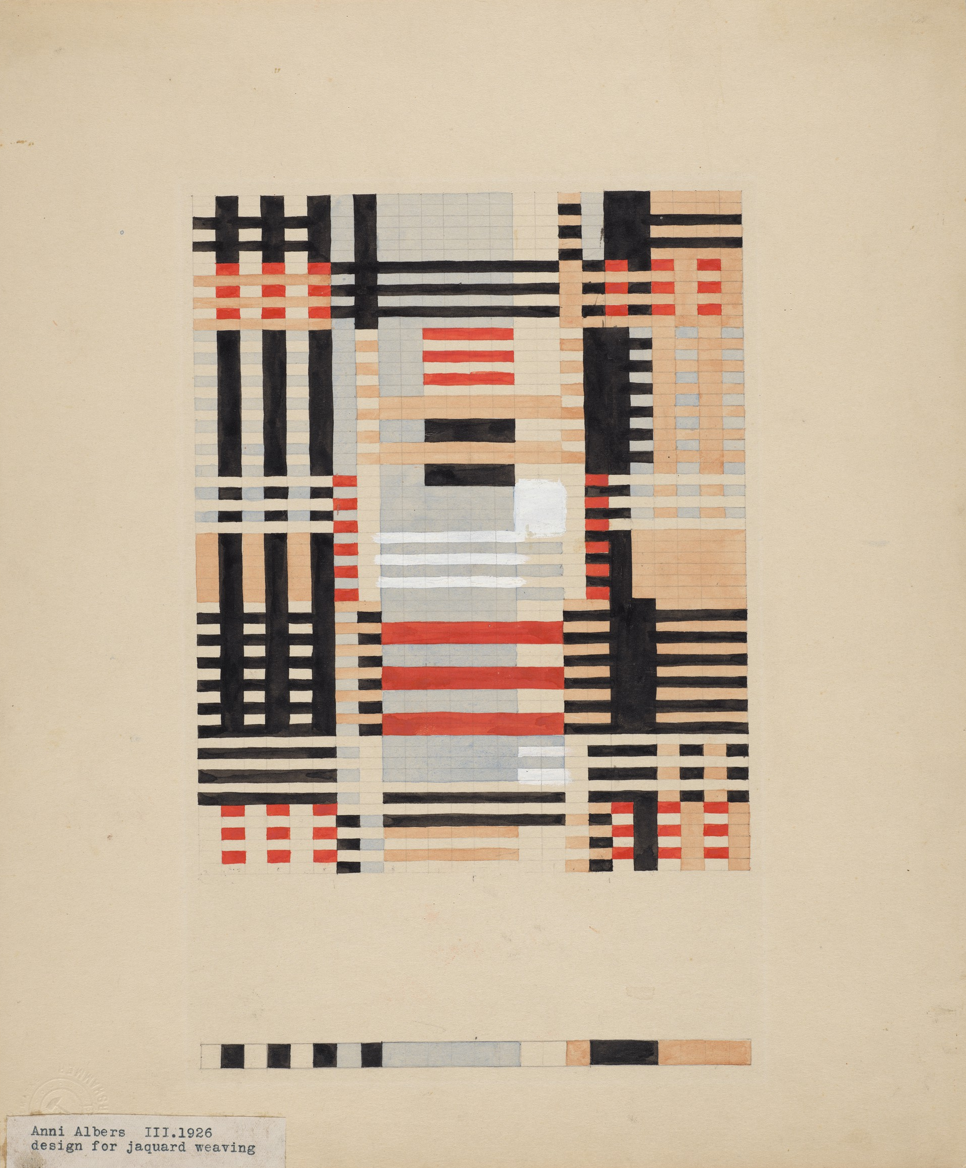 Anni_Albers_(1899–1994),_Design_for_a_Jacquard_Weaving,_1926