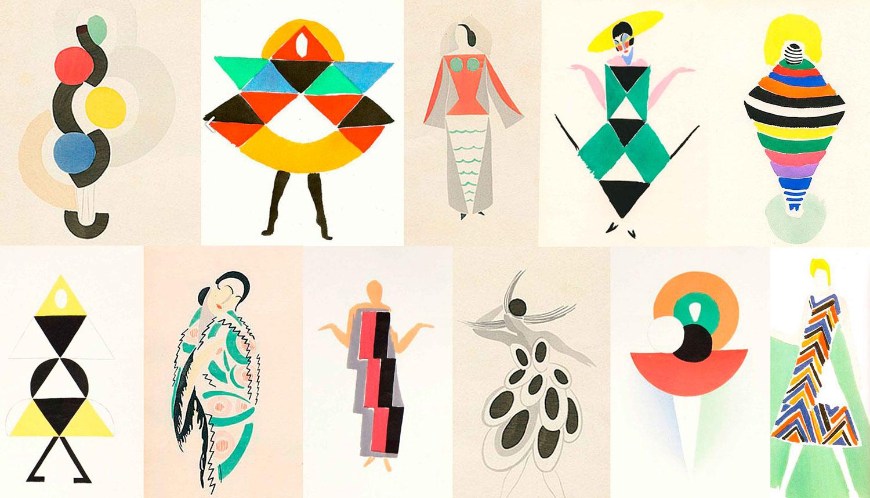 Figurines-Sonia-Delaunay-Moda